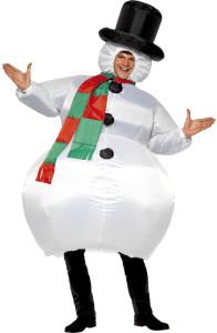 deguisement bonhomme de neige