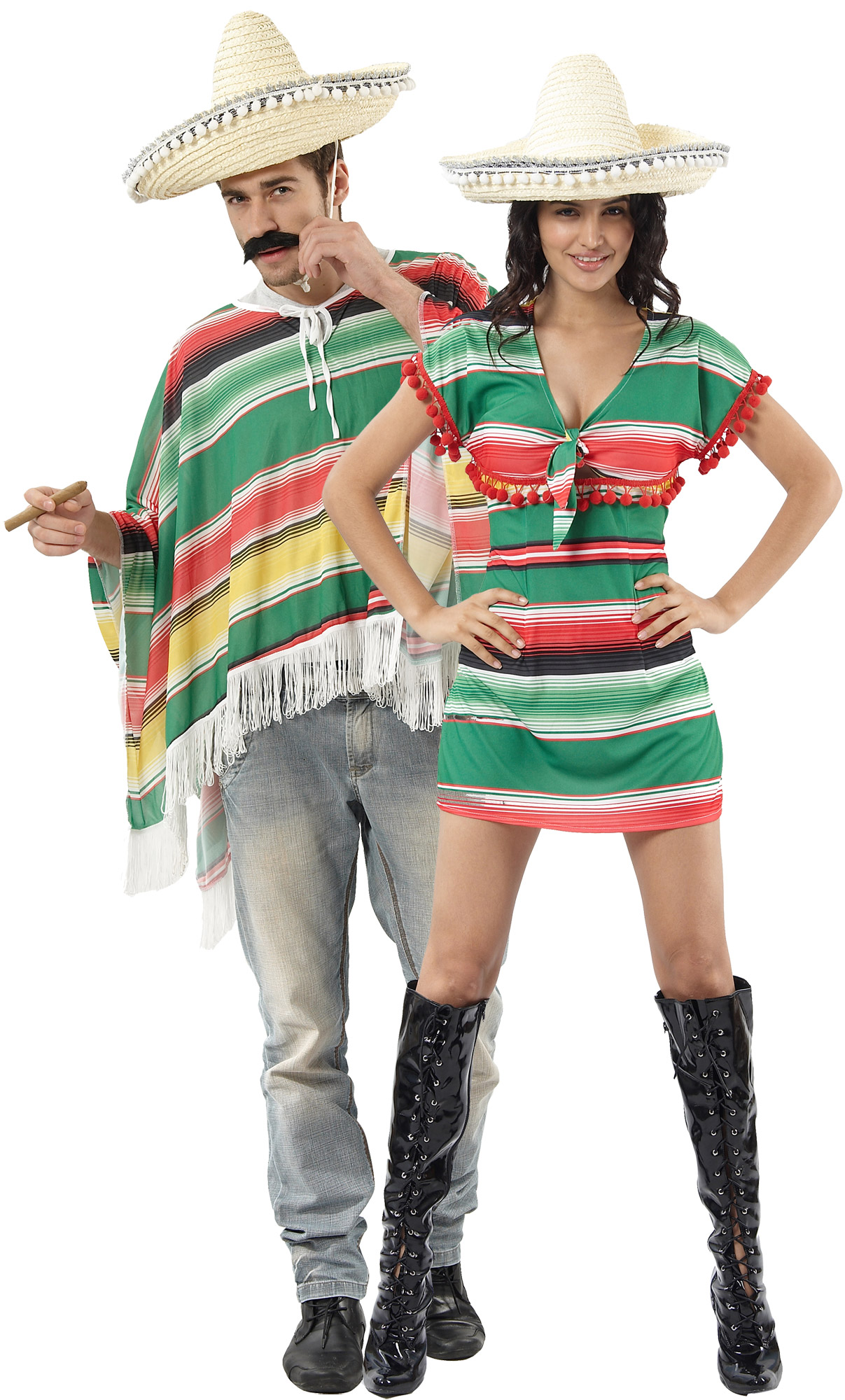 Mexicains Messieurs Costume Musicien Mariachi Messieurs Costume