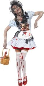 chaperon rouge zombie