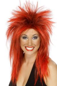 perruque femme rock