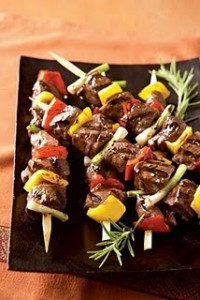 recette de brochette libanaise