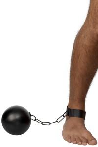 boulet et chaine de prisonnier