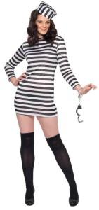 deguisement femme prison