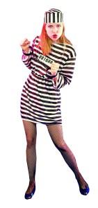 prisonnière femme
