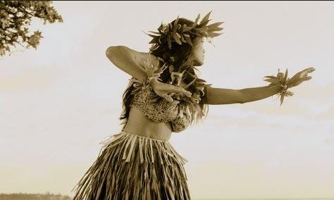 jupe hawaienne