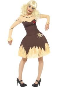 deguisement poupée vaudou