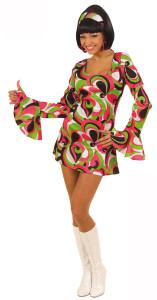 robe disco deguisement femme