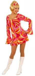 robe rouge disco