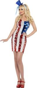 robe usa deguisement