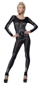 combinaison squelette moulante