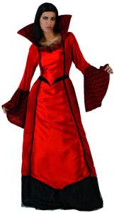 robe rouge vampire