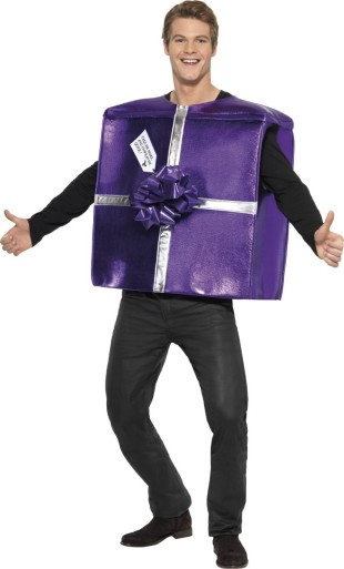 deguisement d'emballage papier cadeau