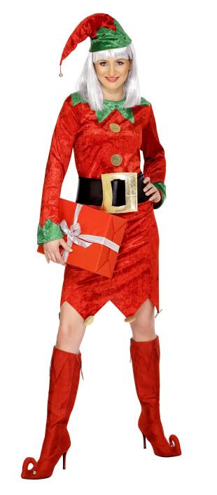 deguisement elfe femme noel