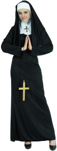 deguisement monastère femme