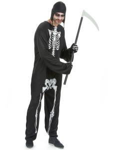 Déguisement squelette adulte
