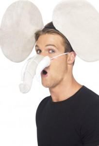 kit pour se déguiser en éléphant