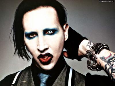 Maquillage Marilyn Manson
