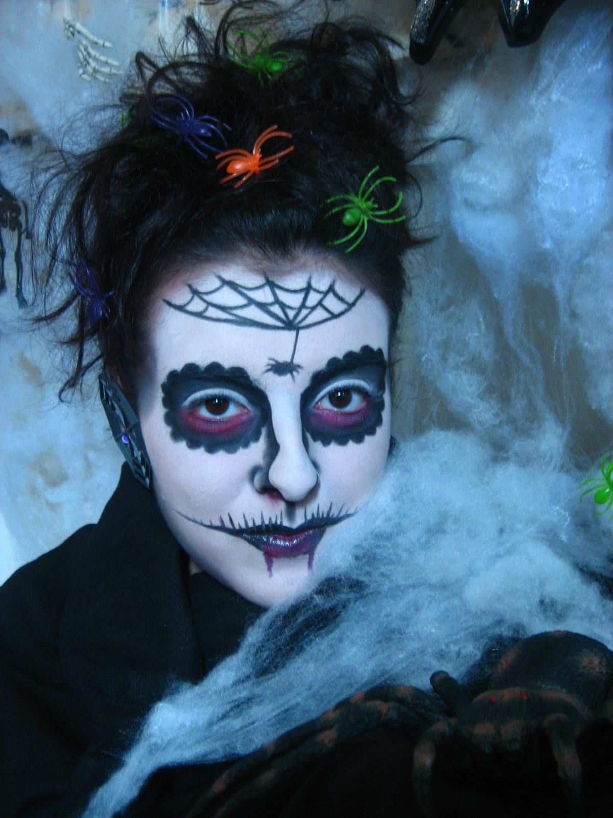 Maquillage Sorciere Pour Halloween