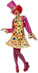 deguisement femme clown